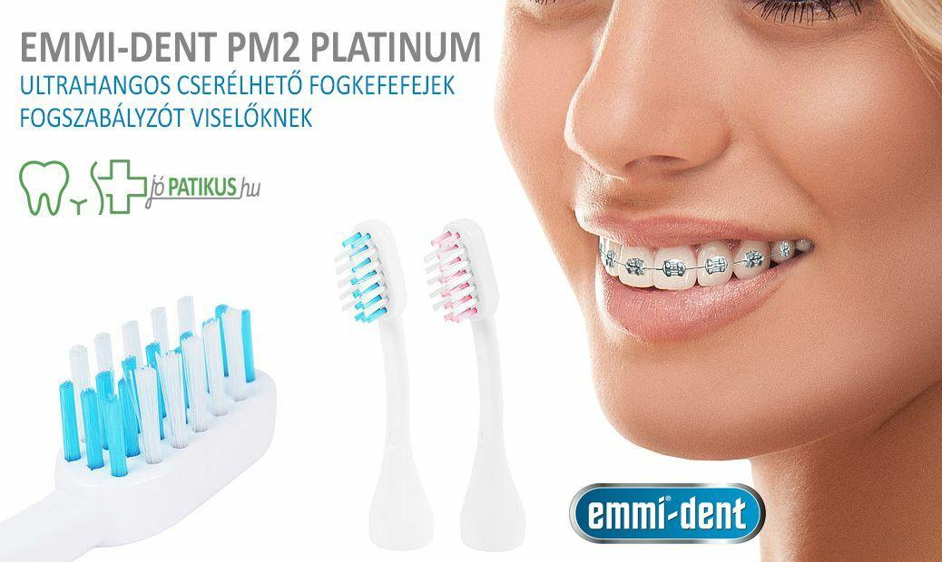 Ultrahangos fogkefe AKCIÓ, fogszabályzót viselőknek is.