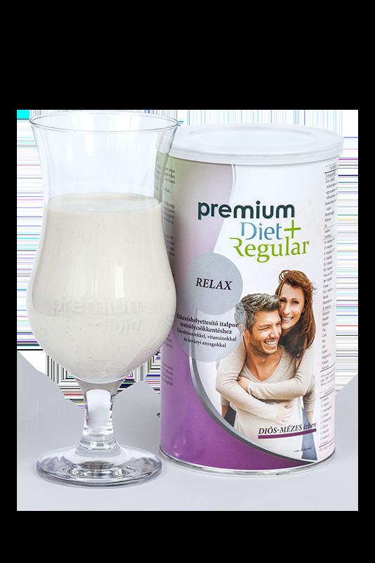 Premium Diet Regular + relax - diós-máézes ízben - jópatikus